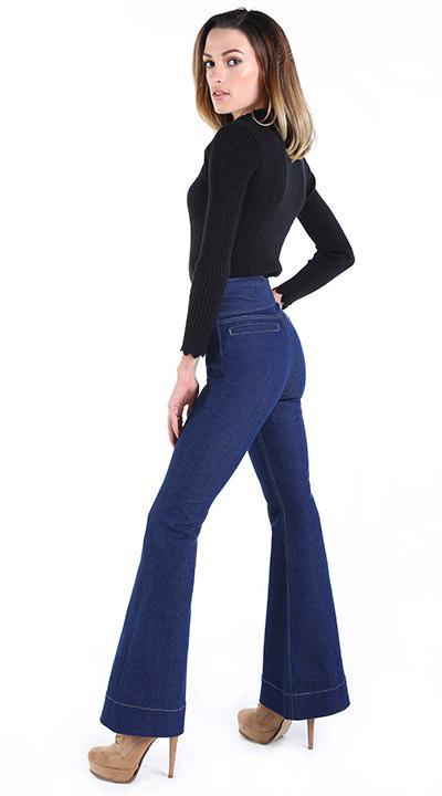 Damen Jeans Deutschland, hight waisted jeans