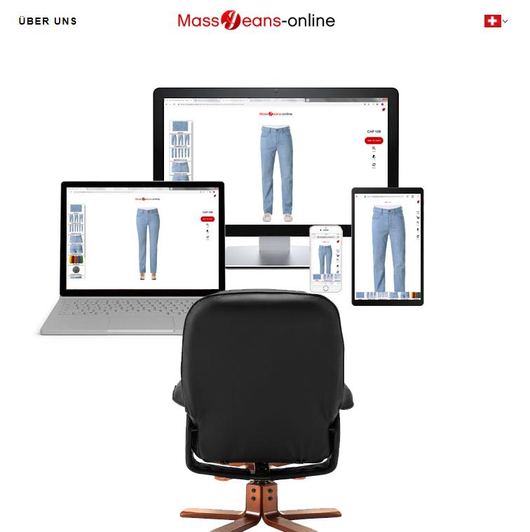 Jeans München, bequem von zu Hause aus