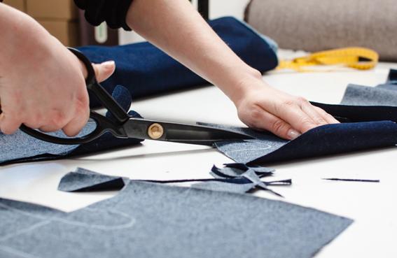 Herstellung massgeschneiderte Jeans