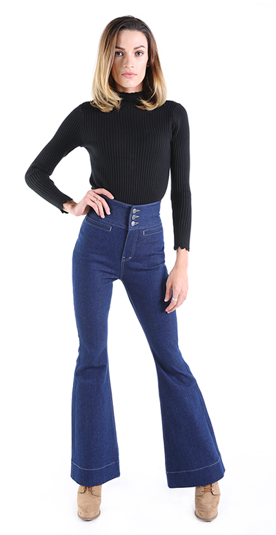 High Waisted Jeans Bootcut