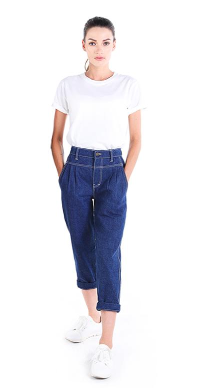 High Waisted Jeans Boyfriend